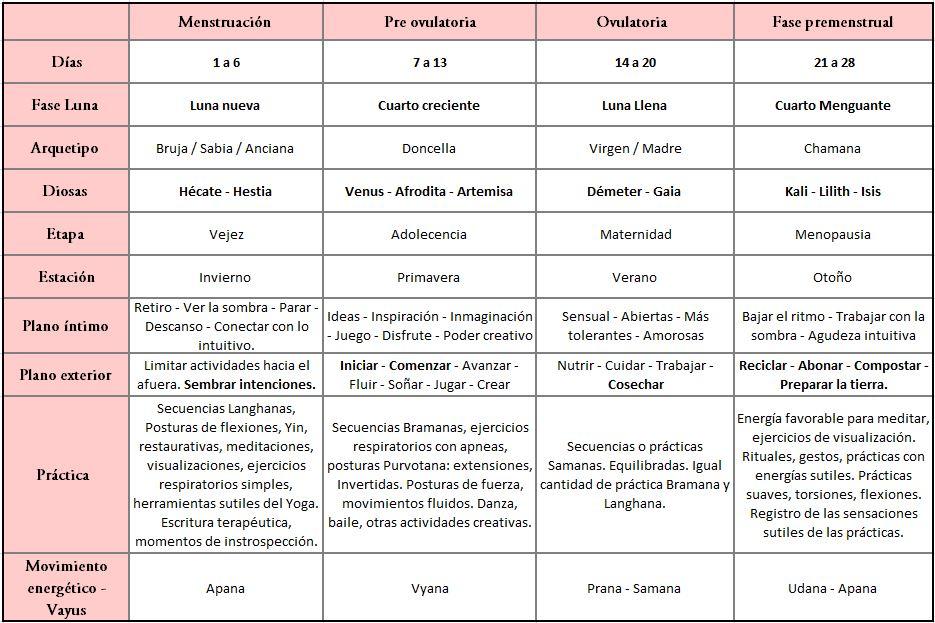 Yoga y ciclo menstrual_ Noé Díaz